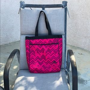 Pink and Black Book-bag/Beach-bag/Tote by adidas